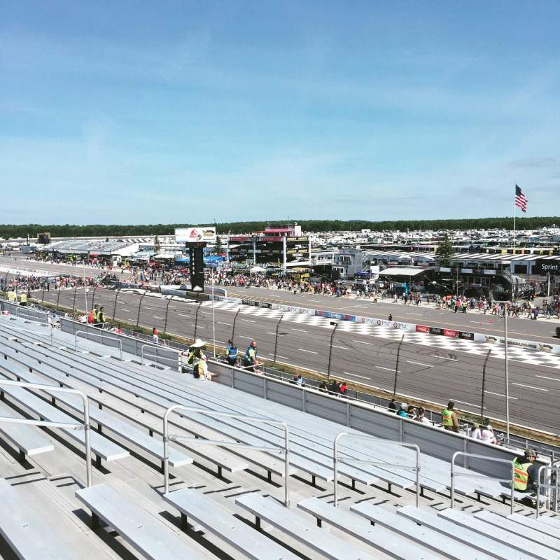 Seating view for Pocono Raceway Section 214 Row 37 Seat 10