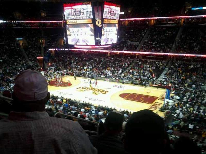 Seating view for Quicken Loans Arena Section 111 Row 28 Seat 6