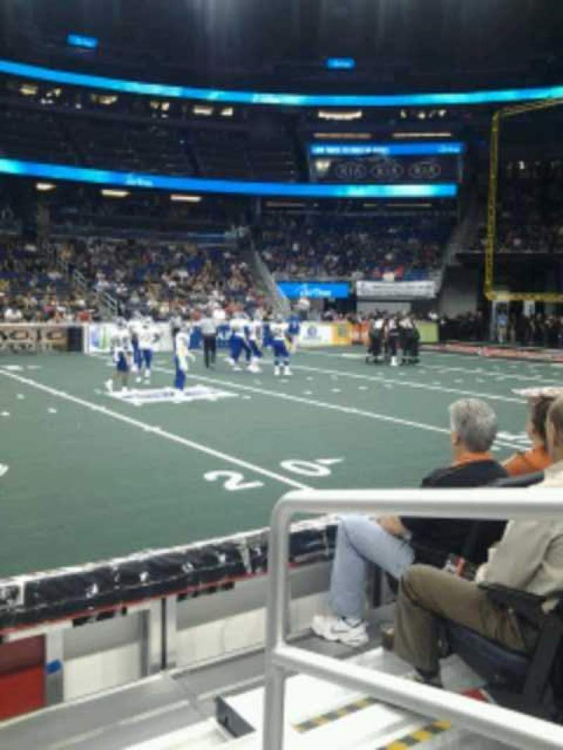Seating view for Amway Center Section 106 Row 4 Seat 1