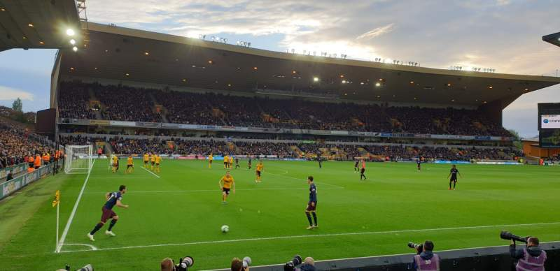 Seating view for Molineux Stadium Section JL10 Row D Seat 267