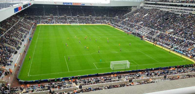 Seating view for St James' Park Section L7K Row C Seat 507