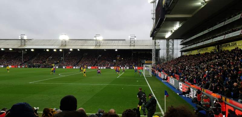 Seating view for Selhurst Park Section R Row 10 Seat 13