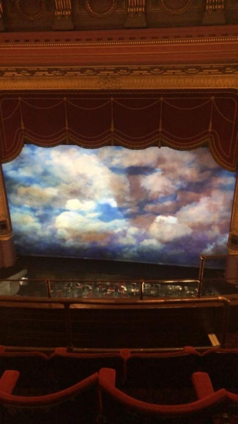 Seating view for Palace Theatre (Manchester) Section Grand Tier Row D Seat 18