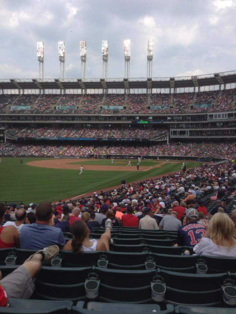 Seating view for Progressive Field Section 178 Row CC  Seat 9