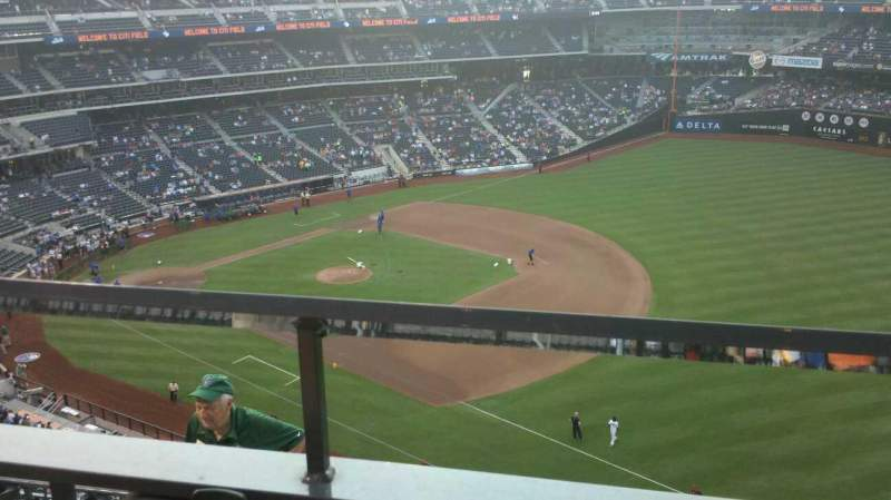 Seating view for Citi Field Section 503 Row 1 Seat 13