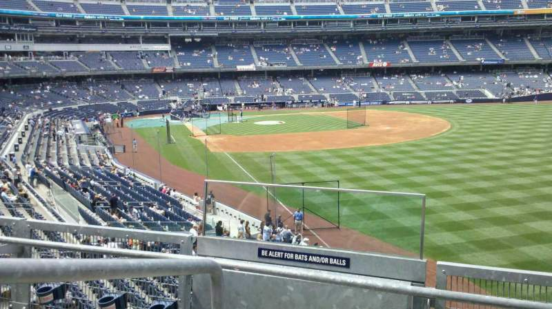 Seating view for Yankee Stadium Section 208 Row 3 Seat 15