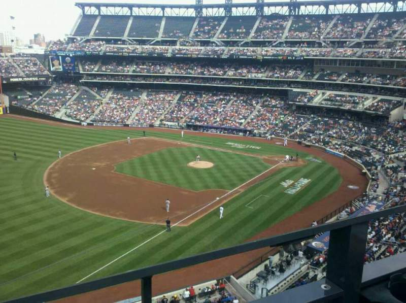 Seating view for Citi Field Section 426 Row 1 Seat 19