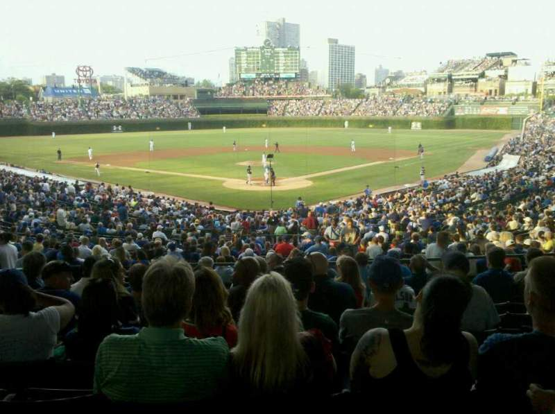 Seating view for Wrigley Field Section 220 Row 10 Seat 6