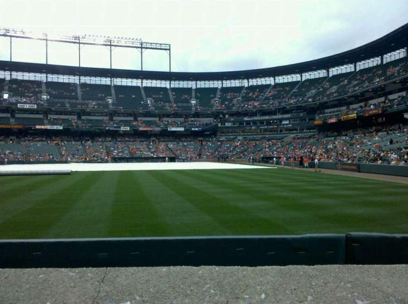 Oriole Park At Camden Yards Section 80 Row 1 Seat 1