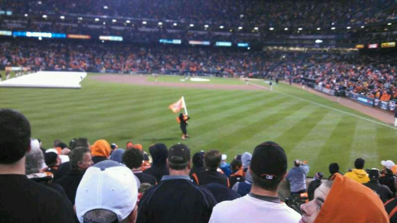 Seating view for Oriole Park at Camden Yards Section 80 Row 16 Seat 1