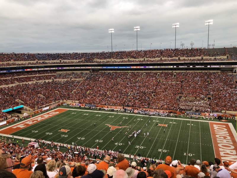 Seating view for Texas Memorial Stadium Section 103 Row 16 Seat 7