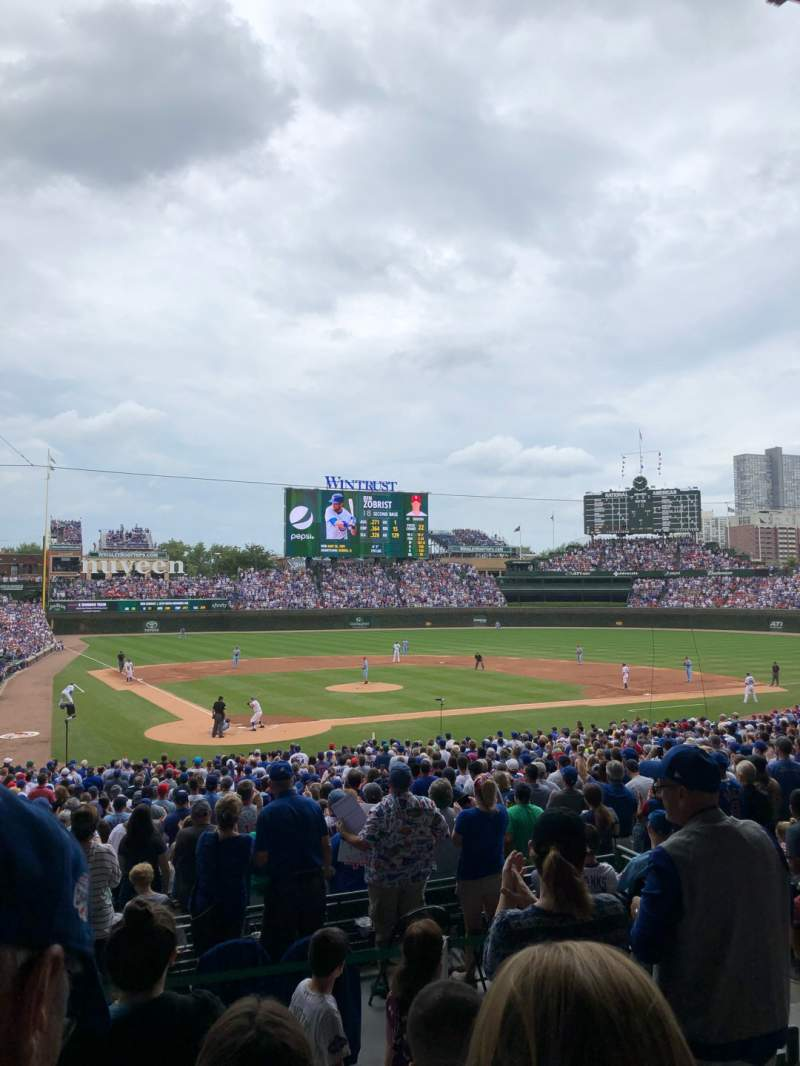 Seating view for Wrigley Field Section 220 Row 4 Seat 16