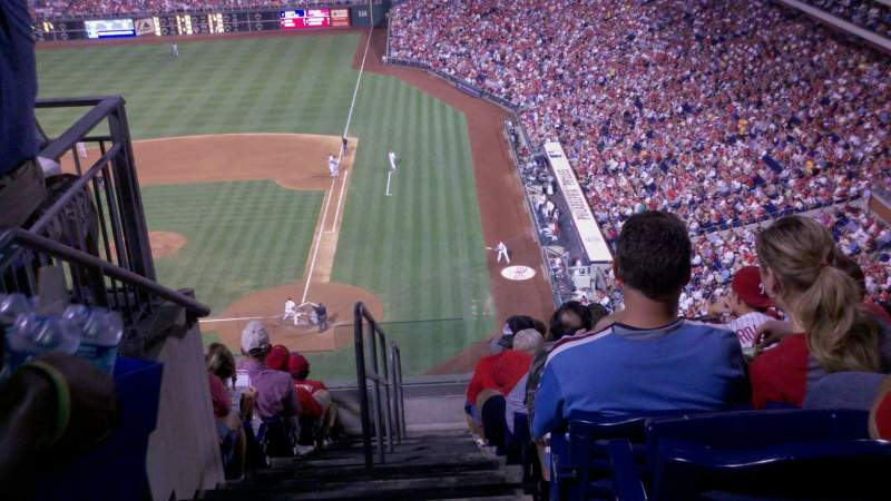 Seating view for Citizens Bank Park Section 428 Row 3
