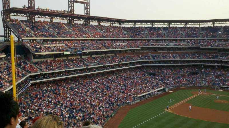 Seating view for Citizens Bank Park Section 302 Row 10 Seat 5