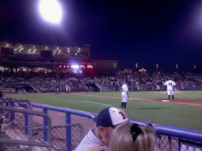 Seating view for Coca-Cola Park Section 105 Row B Seat 4