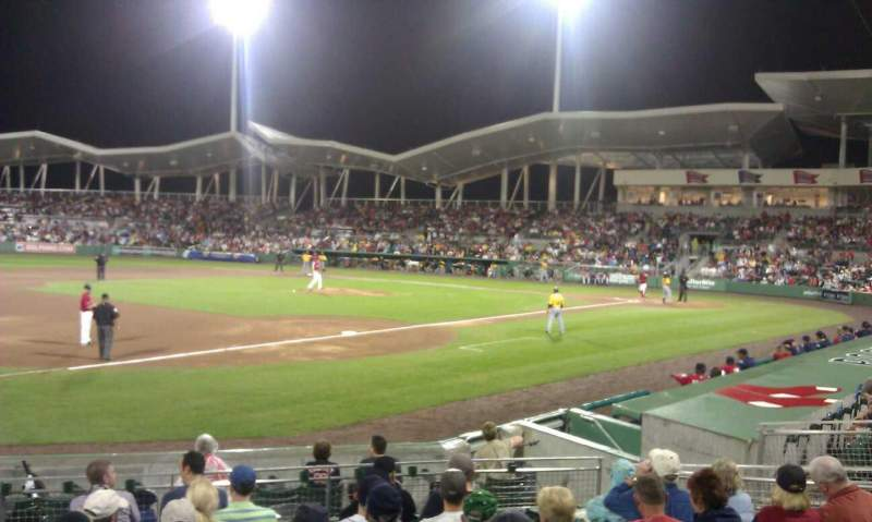 Seating view for Jetblue Park Section 112 Row 12 Seat 12