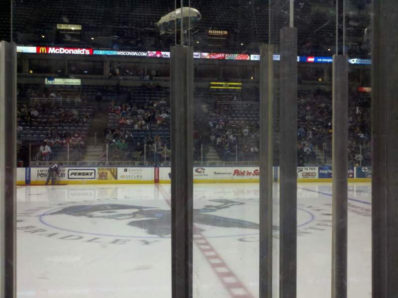 Seating view for BMO Harris Bradley Center Section 214 Row c Seat 11