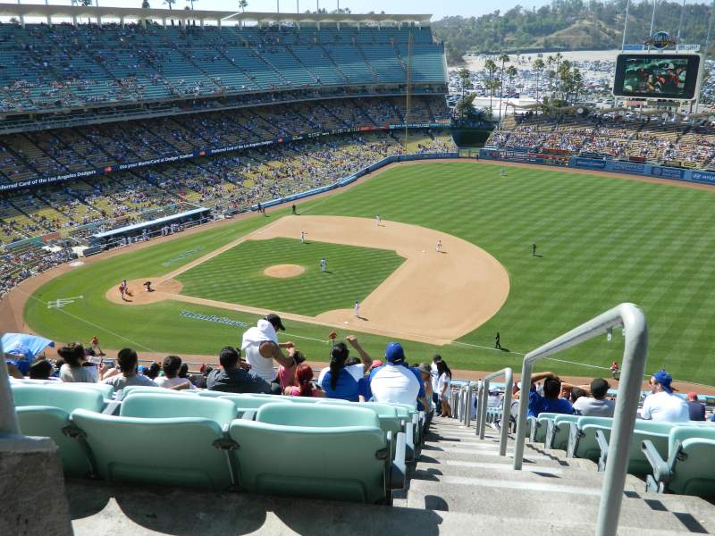 Seating view for Dodger Stadium Section 24RS