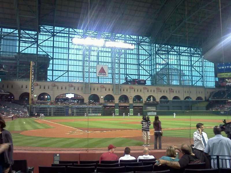 Seating view for Minute Maid Park Section E Row 8 Seat 4