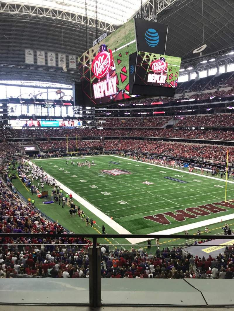 AT&T Stadium, section: 327, row: 2, seat: 32