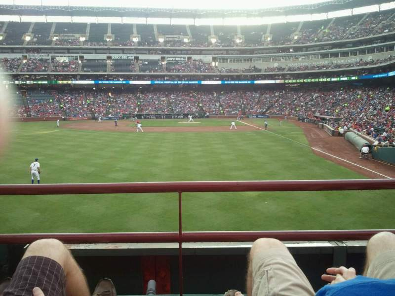 Seating view for Globe Life Park in Arlington Section 7 Row 2