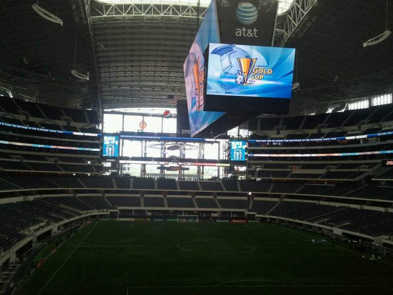 AT&T Stadium, section: 249, row: 15, seat: 20