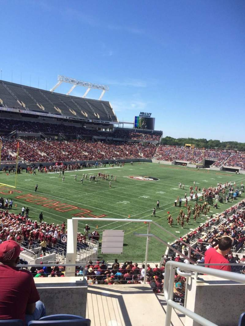 Seating view for Camping World Stadium Section P17 Row F Seat 1