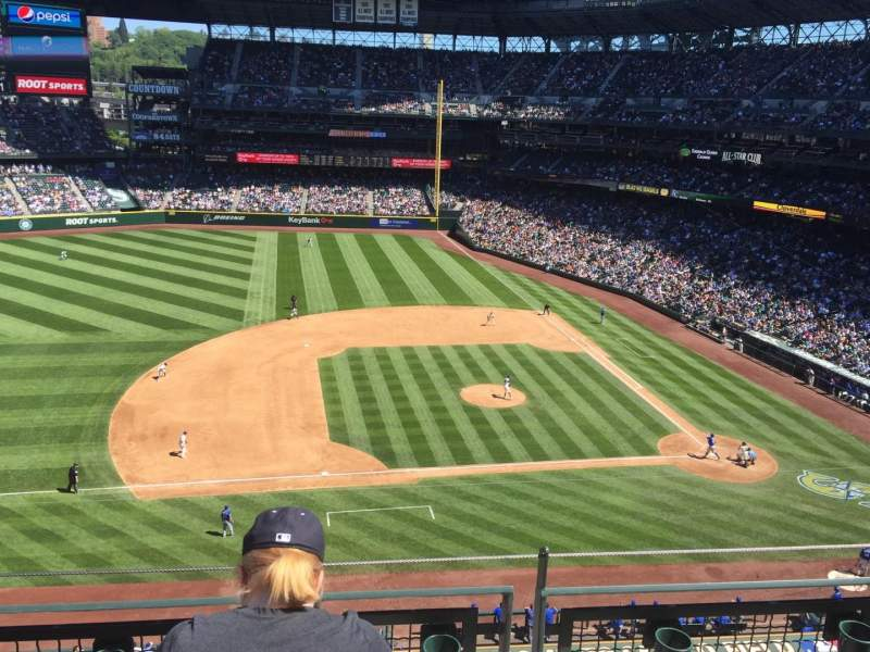 Seating view for Safeco Field Section 339 Row 3 Seat 9