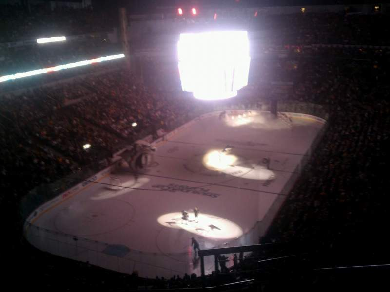 Seating view for Bridgestone Arena Section 303 Row G Seat 1