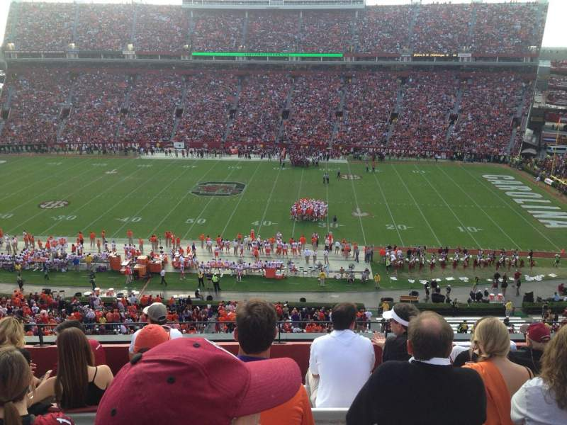 Seating view for Williams-Brice Stadium Section 506 Row 7  Seat 14