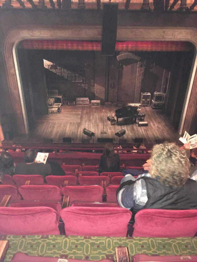 Seating view for Walter Kerr Theatre Section Mezzanine C Row G Seat 110