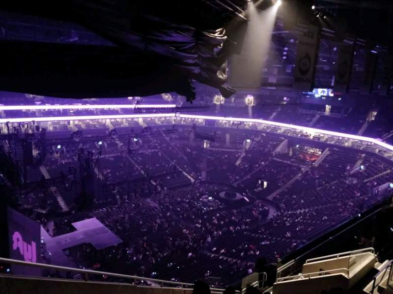 Barclays Center, section: 227, row: 15, seat: 22