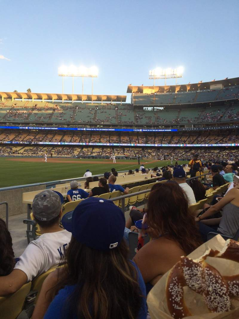 Seating view for Dodger Stadium Section 47FD Row C Seat 4