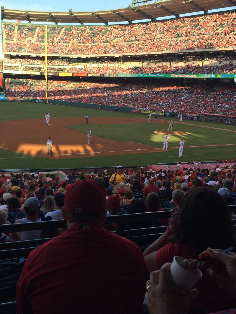 Angel Stadium, section: T209, row: C, seat: 11