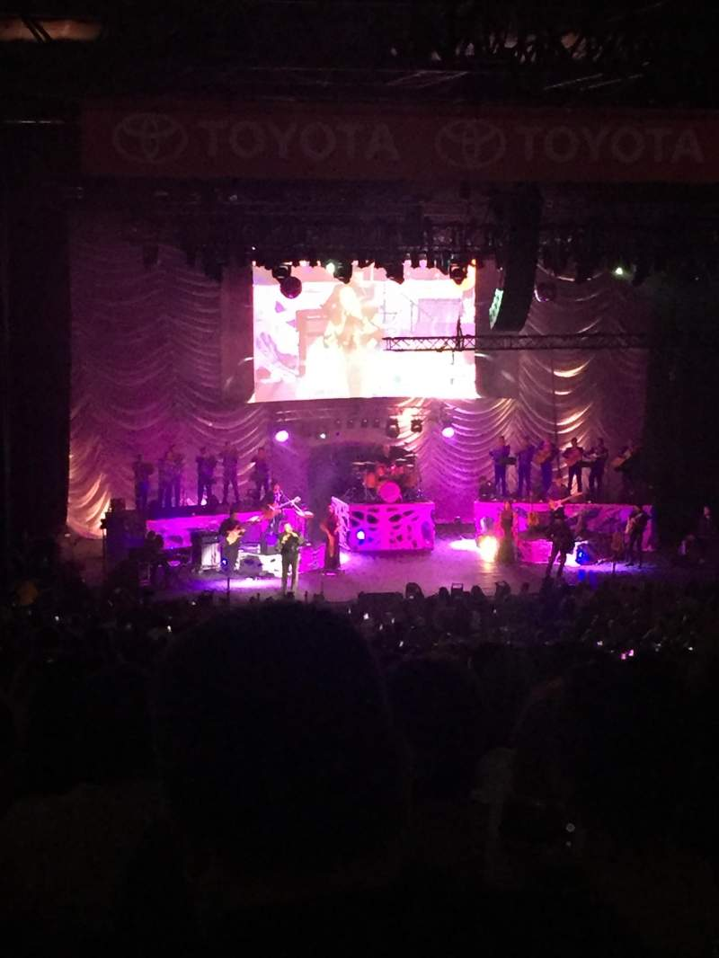Pacific Amphitheatre, section: 6, row: M, seat: 59