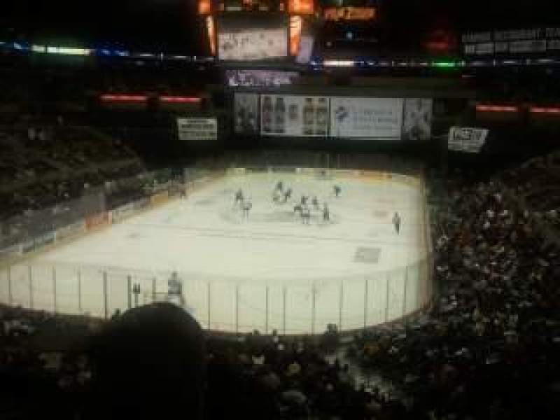 Seating view for AT&T Center Section 128 Row 32 Seat 8