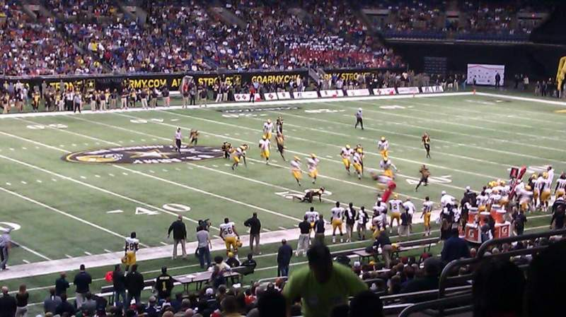 Seating view for Alamodome Section 137 Row 34 Seat 13 and 14