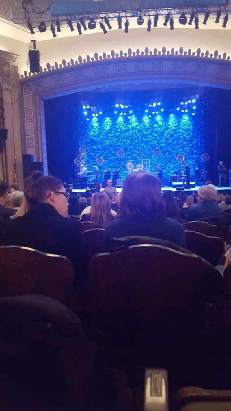 Seating view for Hackensack Meridian Health Theatre Section Orchestra R Row V Seat 10