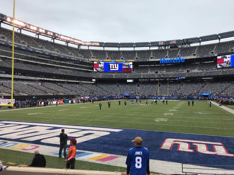 Seating view for MetLife Stadium Section 149 Row 6 Seat 1