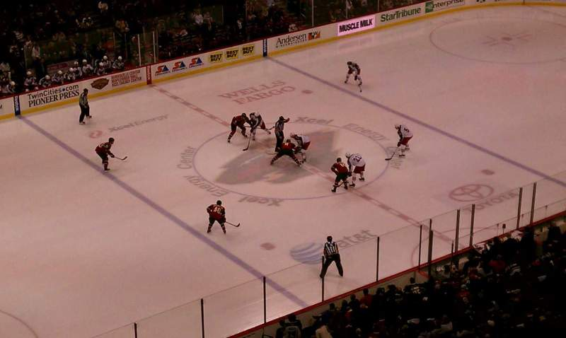 Seating view for Xcel Energy Center Section 207 Row 3 Seat 9