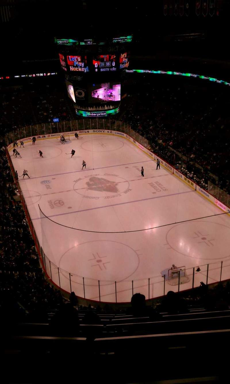 Seating view for Xcel Energy Center Section 228 Row 7 Seat 15