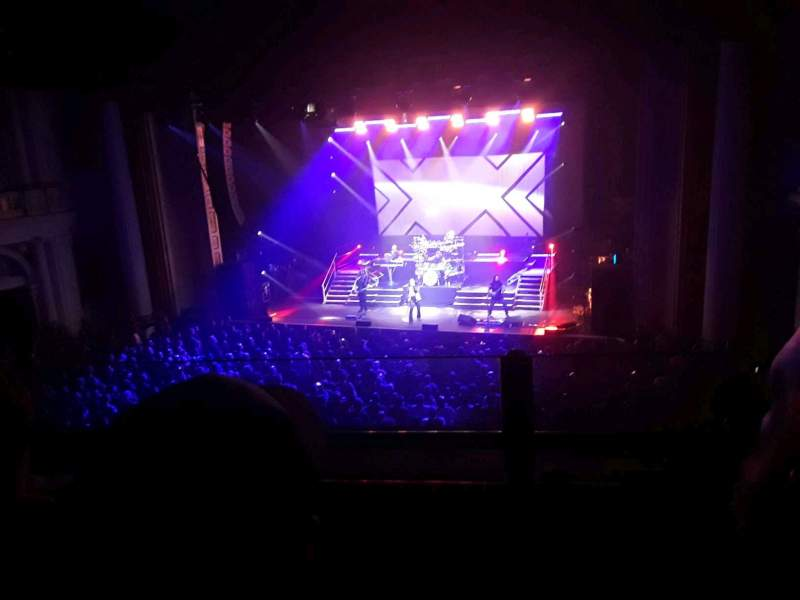 Seating view for Tower Theater Section Loge RC Row BB Seat 19