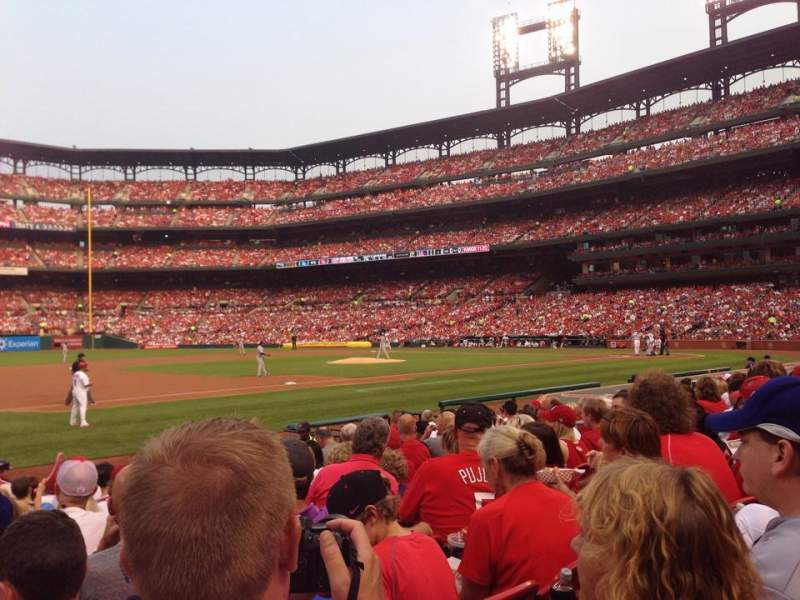 Seating view for Busch Stadium Section 159 Row 1 Seat 12
