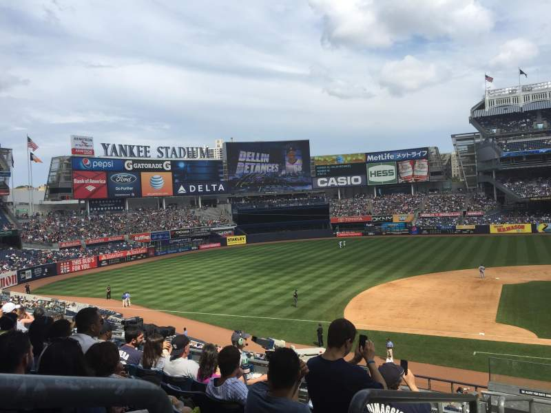 Seating view for Yankee Stadium Section 224 Row 8 Seat 20