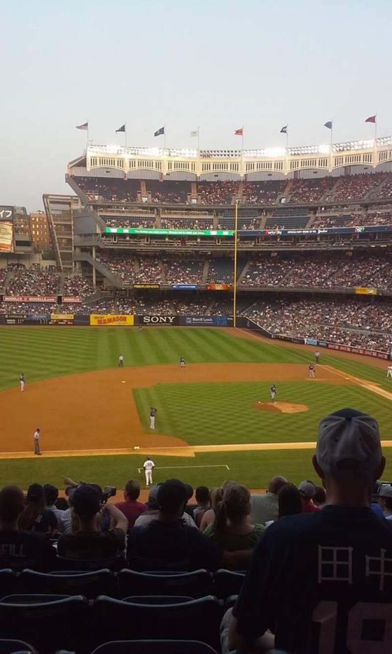 Seating view for Yankee Stadium Section 225 Row 14 Seat 3