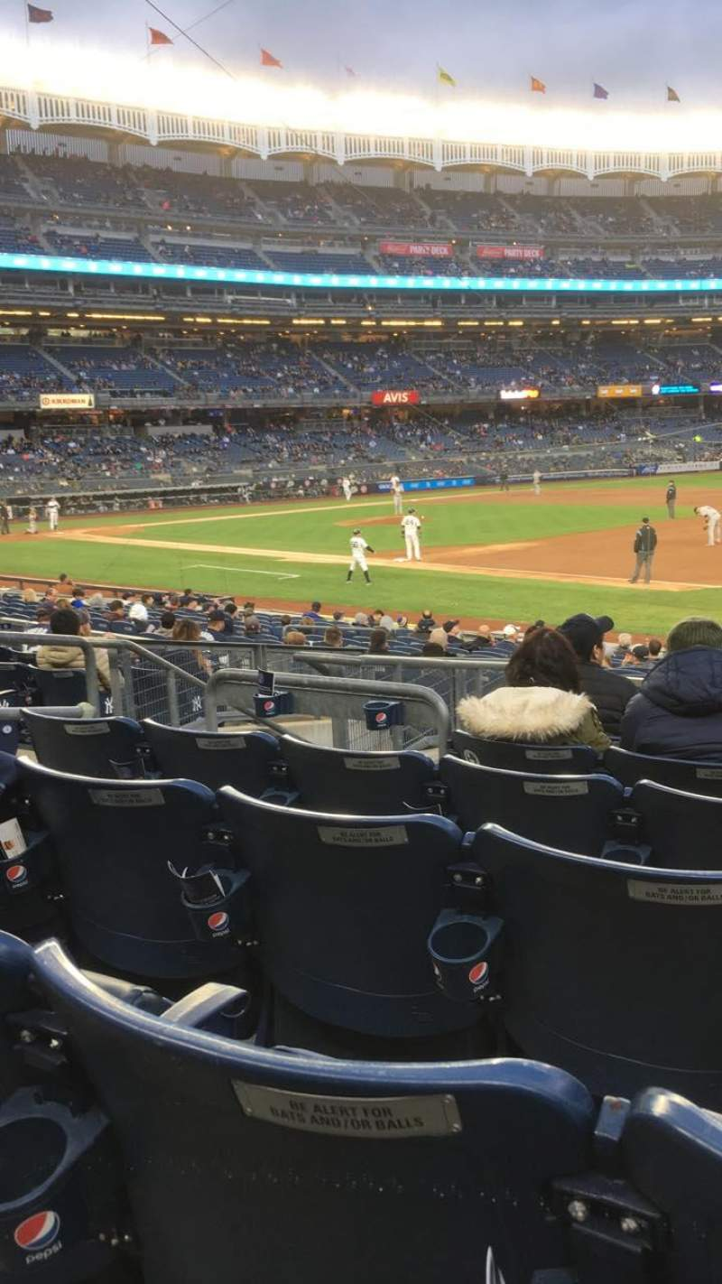 Seating view for Yankee Stadium Section 013