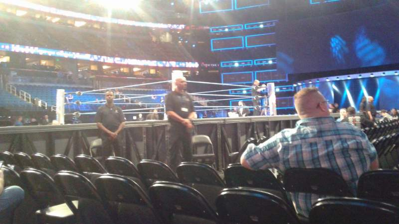 Seating view for Amway Center Section F4 Row D Seat 3