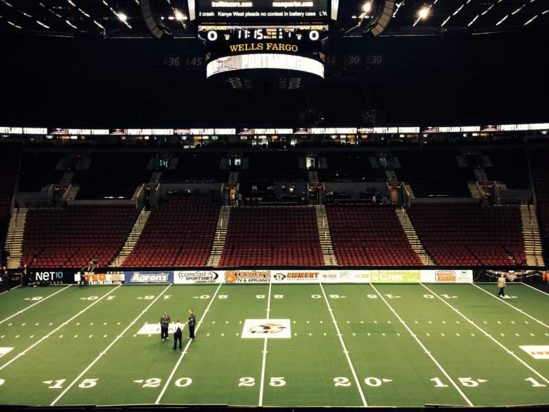 Moda Center, section: 201, row: E, seat: 7