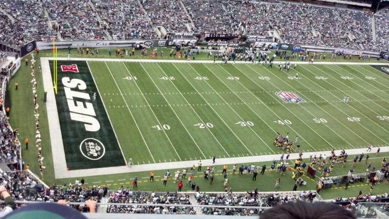 Seating view for MetLife Stadium Section 318 Row 6 Seat 6
