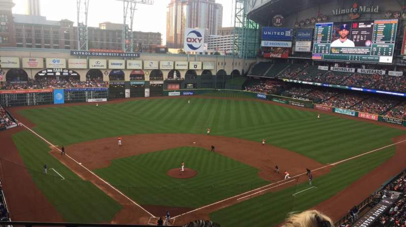 Seating view for Minute Maid Park Section 320 Row 2 Seat 5